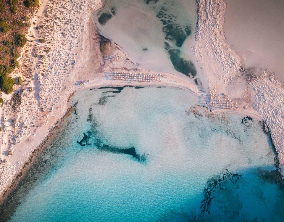 Κολύμπι στα τροπικά νερά του Μπάλου